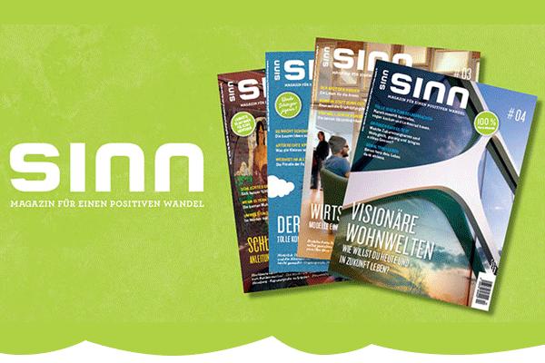 sinn – Magazin für einen positiven Wandel
