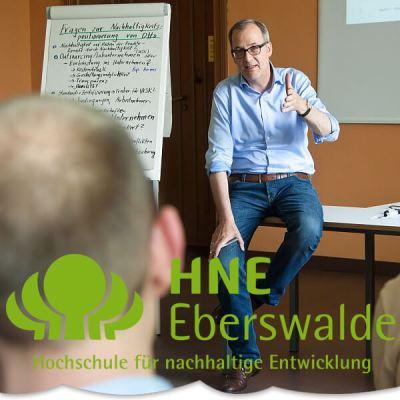 """Berufsbegleitendes Weiterbildungsangebot """"Strategisches Nachhaltigkeitsmanagement"""" an der HNE"""