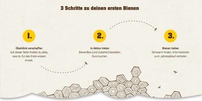Gründe Deine Stadtimkerei mit der BienenBox