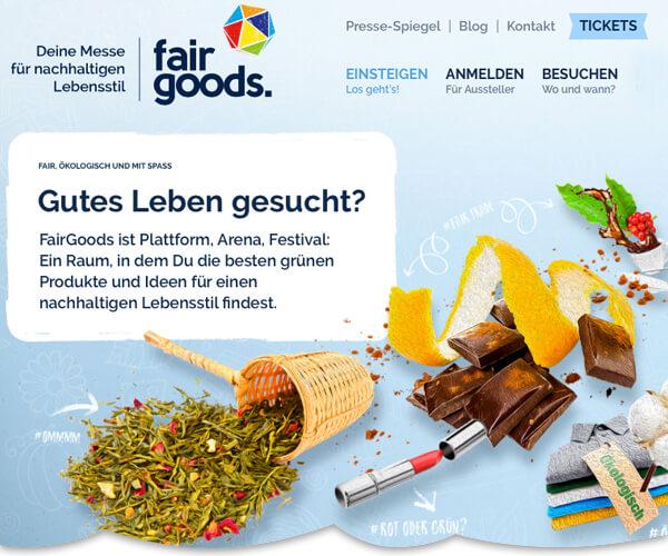 Ökologisch, vegan & fair? Aber bitte mit Spaß! – FairGoods & Veggienale im Dock.One, Köln