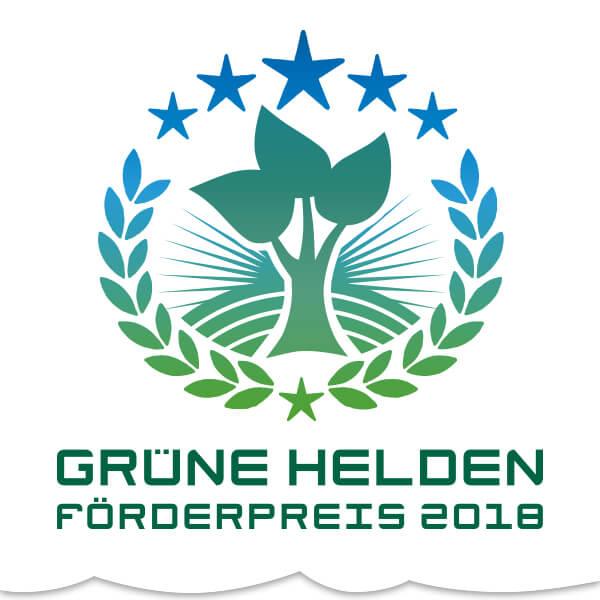 Grüne Helden 2018 gesucht! – Jetzt online bewerben.