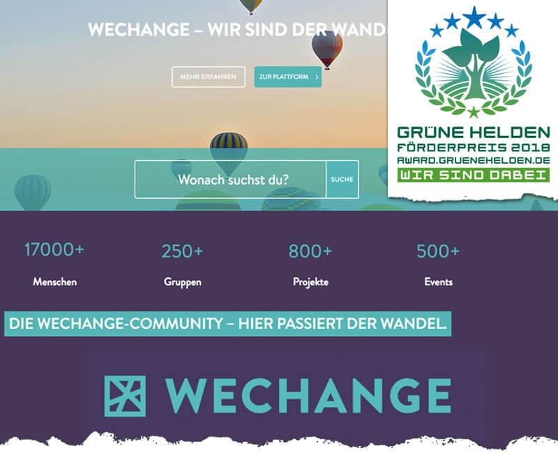 WECHANGE – Wir sind der Wandel