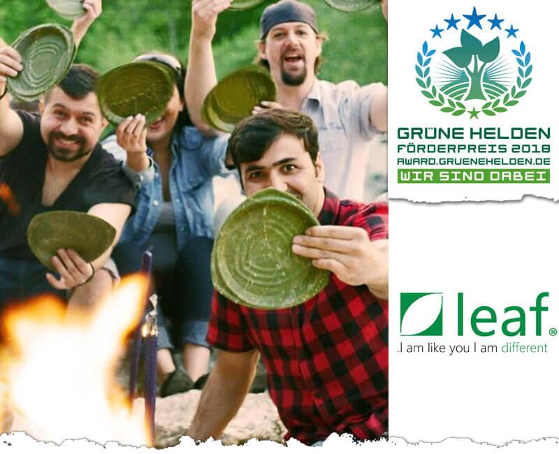 Plastikfreie Parties mit LEAF Produkten