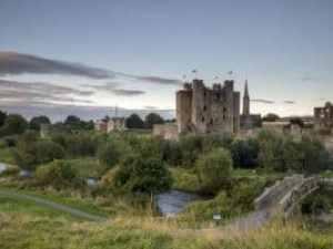 Blick über Trim Castle