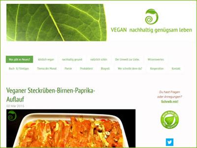 Vegan Nachhaltig Genügsam Leben