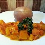 Vegan Fasten - Tag 10 - Karotten in Cremesosse (plus restlichen Hokkaidokürbis)