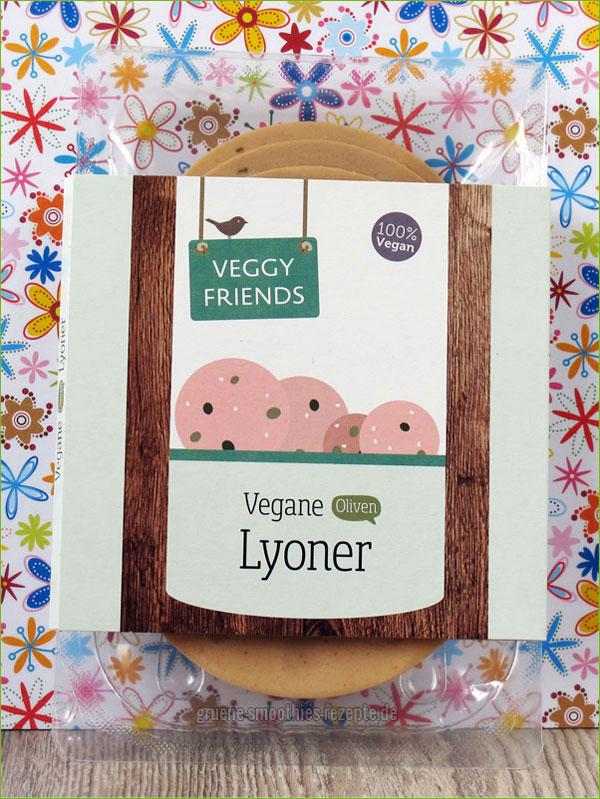 Die vegane Lyoner von Veggy Friends