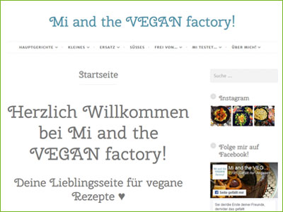 Mi and the VEGAN factory