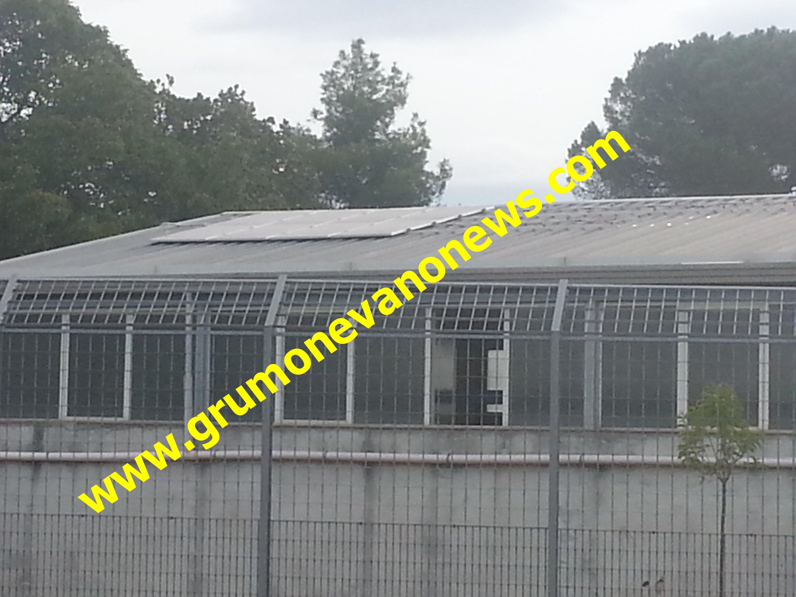 bocciofilo furto pannelli solari 2