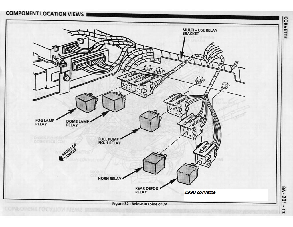 94 Corvette Fuel Pump Wiring Diagram