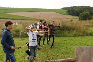 Bogenschießen, Foto: Kommunale Jugendarbeit Wertheim