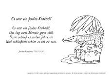 Gedicht Arbeitsblatt In Der Grundschule Ausmalbilder