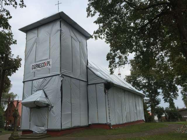 fumigacja kościoła