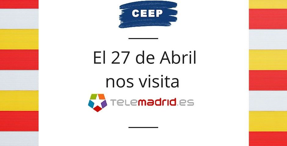 Telemadrid visita las instalaciones del Grupo Ceep