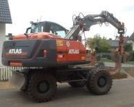 ATLAS 150 W Peso de 17000 Kg Potencia 130 CV Profundidad de excavación 5,7 m