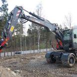 ATLAS 160 W Peso de 17800 Kg Potencia 143 CV Profundidad de excavación 5,7 m