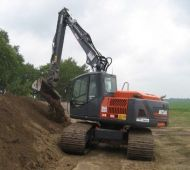 ATLAS 190 LC Peso de 19700 Kg Potencia 142 CV Profundidad de excavación 6,21 m