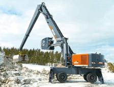ATLAS 800 MH Peso de 95000 Kg Potencia 355 CV Alcance máximo 24,10 m