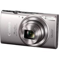 CAMARA CANON POWERSHOT ELPH 360 HS PLATA 12X WI FI NFC 20.2 MP