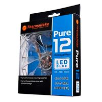 VENTILADOR THERMALTAKE PURE 12 LED AZUL/120MM/1000 RPM/19.5 DBA/LED