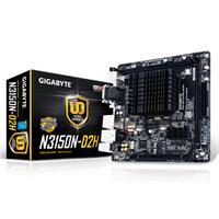 MB GIGABYTE CPU INTEGRADO INTEL CELERON N3150/2X DDR3 1600/HDMI/MINI ITX/GAMA BASICA