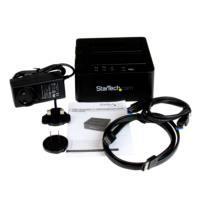 DOCK USB 3.0 Y ESATA COPIADORA DE UNIDADES DE DISCO SATA 6GBPS DE 2.5 Y 3.5 PULGADAS - CLONADOR AUTÓNOMO - STARTECH.COM MOD. SDOCK2U33RE