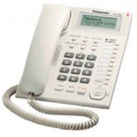 TELEFONO PANASONIC KX-T7716 UNILINEA CON IDENTIFICADOR DE LLAMADAS Y BOTONES PROGRAMABLES (BLANCO)