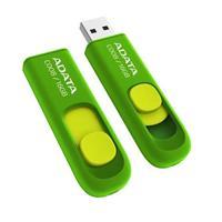 MEMORIA ADATA 16GB USB 2.0 C008 RETRACTIL VERDE