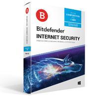 BITDEFENDER INTERNET SECURITY, 3 USUARIO 1 AÑO DE VIGENCIA (CAJA)