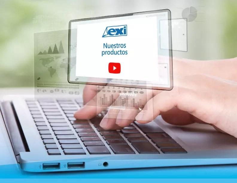 Galería de video mediante botones
