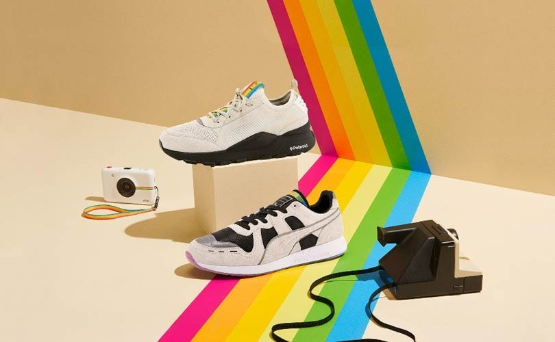 Puma y Polaroid colaboran creando unas zapatillas