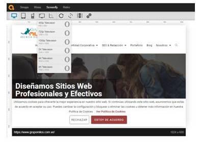 Diseño web responsive - Grupo Milos C.A.