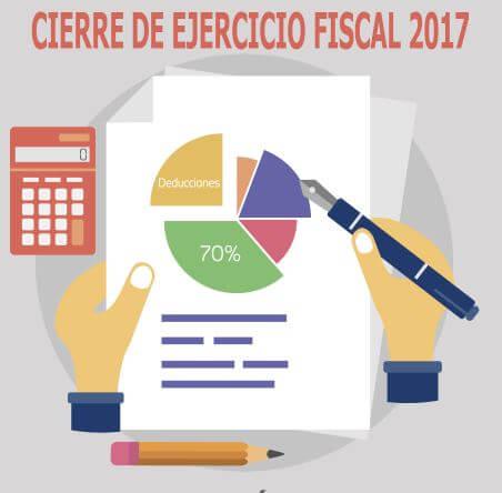10 Tips para cierre fiscal del ejercicio 2017