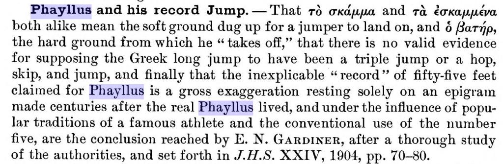 Estratto da Paton James M. Archaeological Discussions, 1904, p. 485