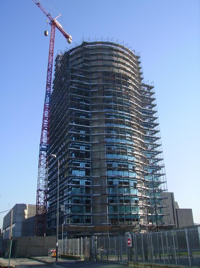 Torre Lorenteggio 255 Milano - Gruppo Di Falco Ponteggi