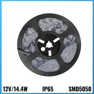 Tira Led 12V 14.4W 5 metres IP65 6000k