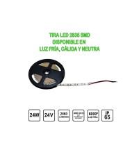 Tira Led 24V 24W 5 metres IP65