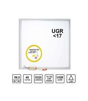 Panell Encastable 60×60 Led Osram 5320lm 48W UGR17