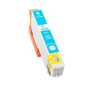 Epson T2435/T2425 (24XL) Cyan Light Cartucho de Tinta Generico - Reemplaza C13T24354012/C13T24254012