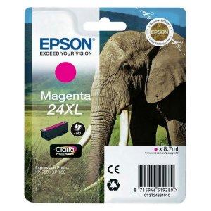 Epson T2433 (24XL) Magenta Cartucho de Tinta Original - C13T24334012