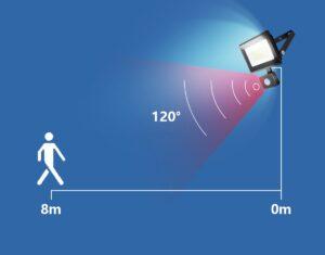 Projector Amb Sensor 30W