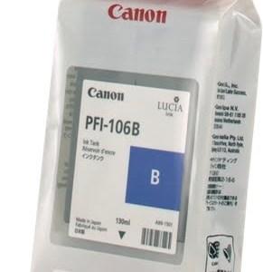 Canon PFI106 Azul Cartucho de Tinta Original - PFI106B/6629B001