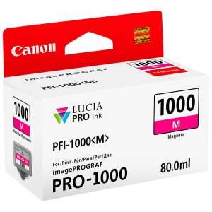 Canon PFI1000 Magenta Cartucho de Tinta Original - PFI1000M/0548C001
