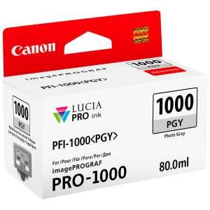 Canon PFI1000 Gris Photo Cartucho de Tinta Original - PFI1000PGY/0553C001