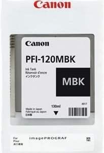 Canon PFI120 Negro Mate Cartucho de Tinta Original - 2884C001