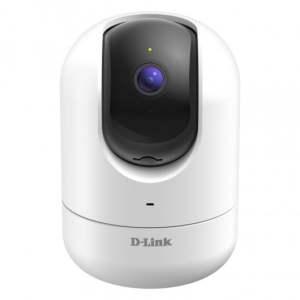 D-Link Camara IP Full HD 1080p WiFi - Microfono y Altavoz Incorporado - Vision Nocturna - Angulo de Vision Vertical 340° - Deteccion de Movimiento - Para Interior