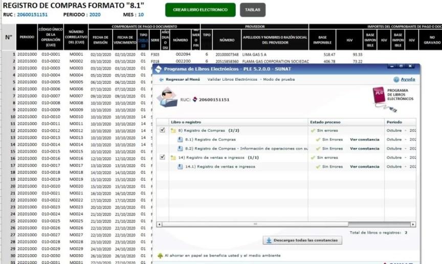 DESCARGAR PLE 5.2 EN EXCEL DESCARGAR PLE 5.2 EN EXCEL SUNAT 2021 |Ple version 5.2