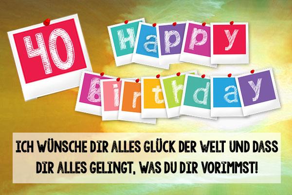 Bilder Von 40 Geburtstag40 Geburtstag Bilder Whatsapp