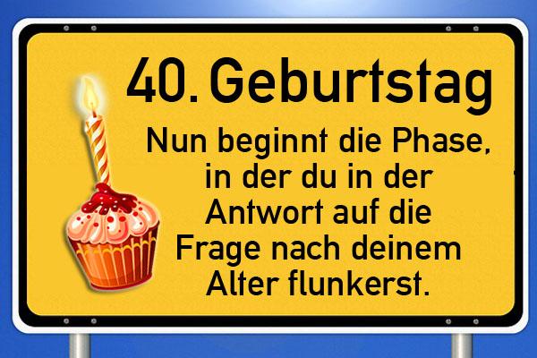 Gluckwunsche Zum 40 Geburtstag 44 Tolle Spruche 4 Mustertexte