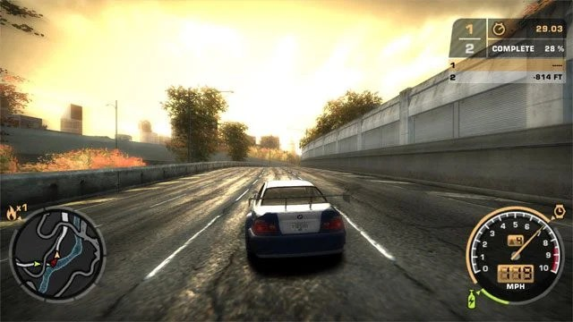 Need For Speed Most Wanted 2005 Game Mod Widescreen Fix V
